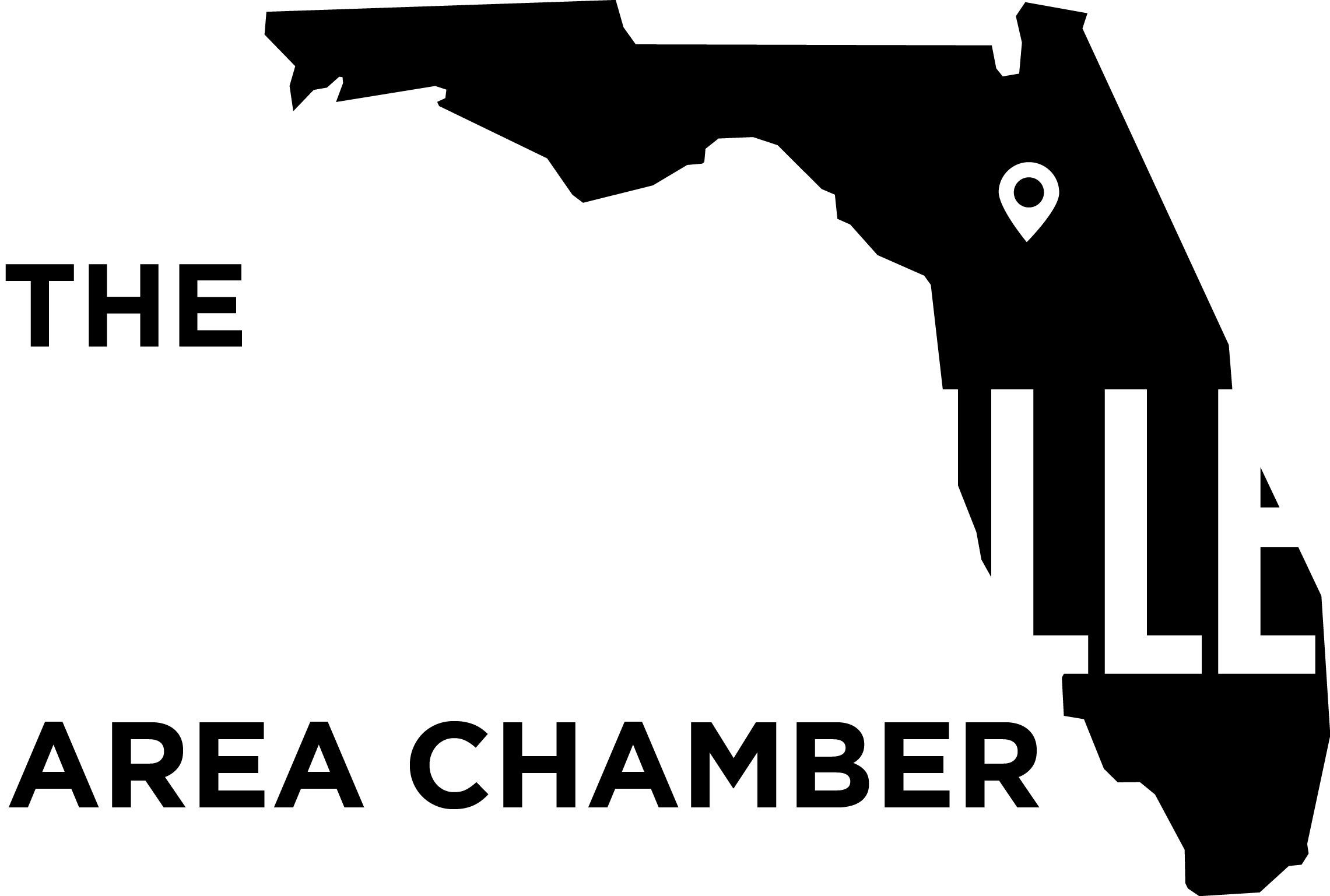 Chamber Logo Black and White